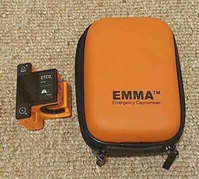 Masimo EMMA Mainstream Emergency Capnometer (Excellent Condition with Warranty)