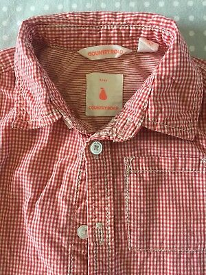 Country Road Baby Boy Shirt Soze 12-18 Months 1