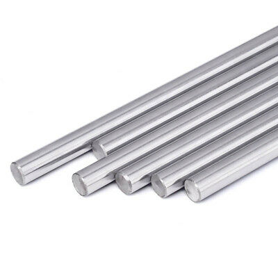 8mm Dia Linear Motion Shaft Hardened Rod Length 100-600mm For 3D Printer CNC