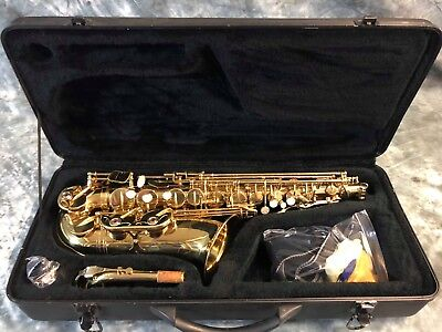 USED Fontaine Alto Saxophone in Hard Carry Case