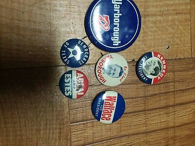 Vintage Presidential Buttons: John F. Kennedy And More