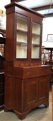 Kentucky Cherry Butler's Desk, Circa 1830, Many Hidden Storage Compartments