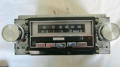 auto 8 track tape deck am/fm radio RCA WORKS WITH BEATLES 67-70 PART I TAPE