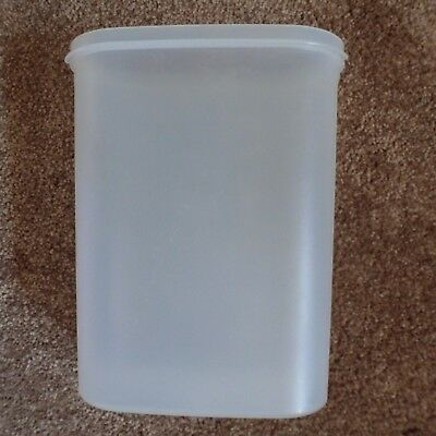 Vintage Tupperware Oval Modular Mate Container 1614 Replacement Clear Storage