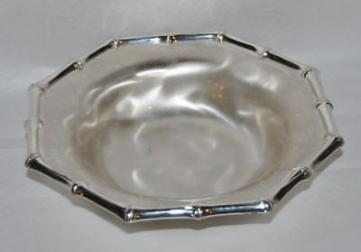 Beautiful Vintage WMF Germany, Silver Plated Brass, 6.5 in. Diameter Bowl