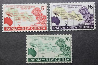 Papua New Guinea #167, 168 & 169, All MInt, #167 Is NH, 168 Is No Gum, & 169 MLH