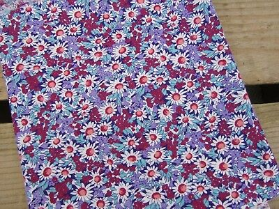 Vintage Feedsack Fabric - Small Floral Pattern Quilting Sewing Crafts