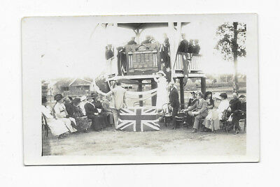 Vintage Postcard WWI Era Goodna Boys Comfort Club Unveiling Roll of Honour