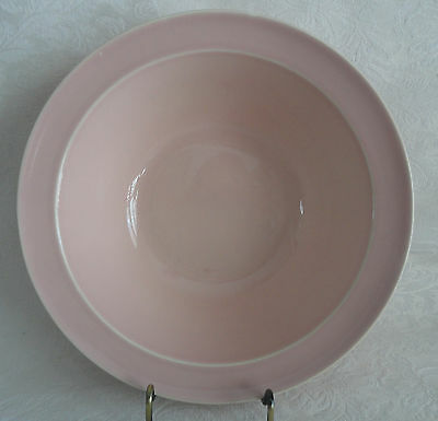 """LuRay  TS&T Large Vegetable Serving Bowl 8 7/8""""  (9"""")  Sharon Pink"""