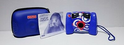 Fisher Price Kid Tough Digital Camera L8341/L8342 With Batteries