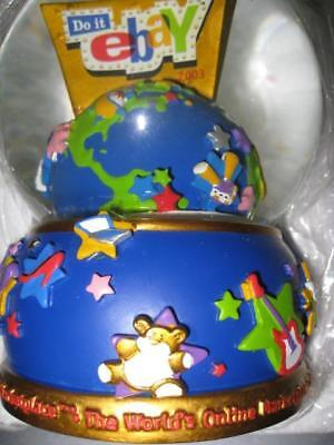 NEW eBay 2003 Limited Edtion Collectible Snow Globe  MIB