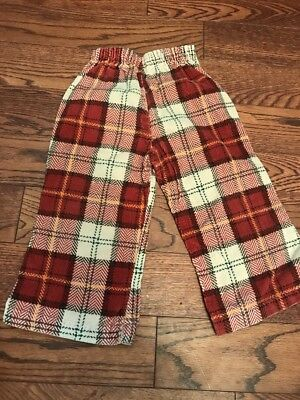 Vintage 70's Corduroy Plaid Pants - Toddler 2