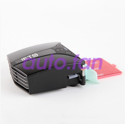 Ventilated notebook radiator side suction cooling fan unit