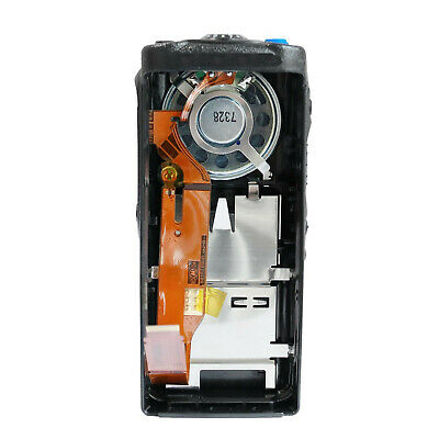 Black Housing Cover Front Case with Speaker for Motorola GP340 Portable Radio