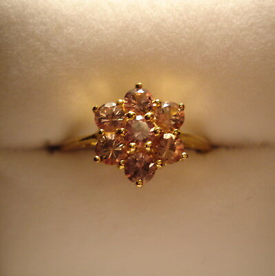 1.02ct Natural Certified Colour Change Garnet Gold Ring