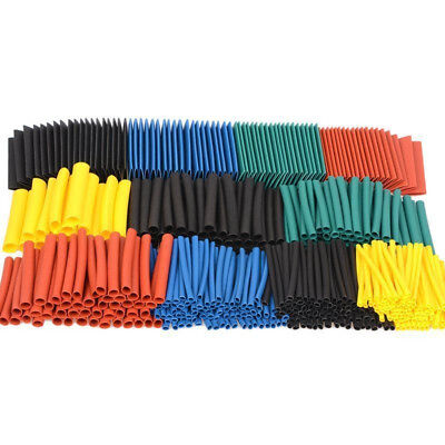 530 Heat Shrink Tubing Insulation Shrinkable Tube 2:1 Wire Cable Sleeve Fast