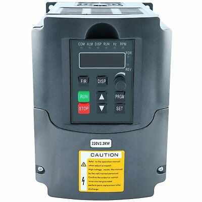 220V 2.2KW 3HP Variable Frequency Drive CNC VFD Motor Drive Inverter