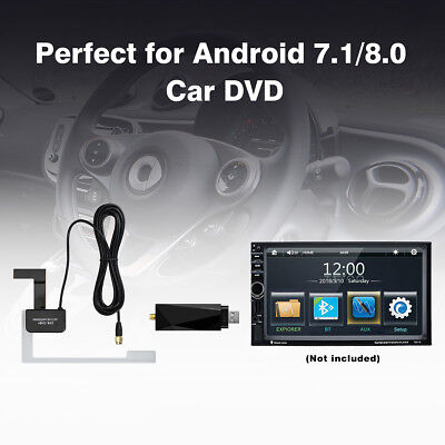 NEU AUTO Digital DAB+ Receiver FM Transmitter USB Dongle FOR Android 7.1 / 8.0