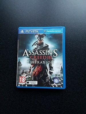 PlayStation Ps Vita Assassin's Creed Liberation Game Sony