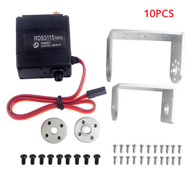 10pcs DS RDS3115MG 17KG Large Torque 270° Biaxial Digital Servo for RC Robot