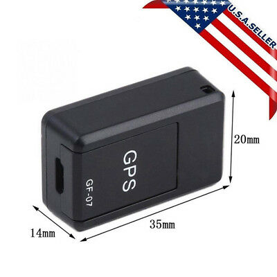 Mini Magnetic Car SPY-GSM GPRS Tracker GPS Real Time Tracking Locator Device