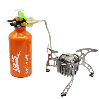 Oil/Gas Multi-Use Fuel Camping Stove For Camping Cooking Furnace Portable BRS-8