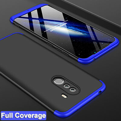 360° Slim Full Protective Armor Case Cover for Xiaomi Pocophone F1/6 Pro/S2+Film