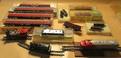 N Scale Carrages / Rolling Stock And Locos