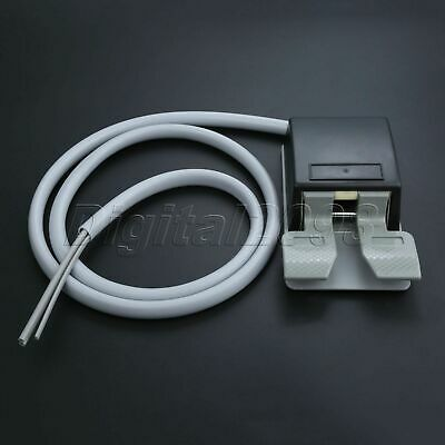 Dental Chair Supplies Dental Square Foot Control Pedal + 4 Hole Tube Hose Cable