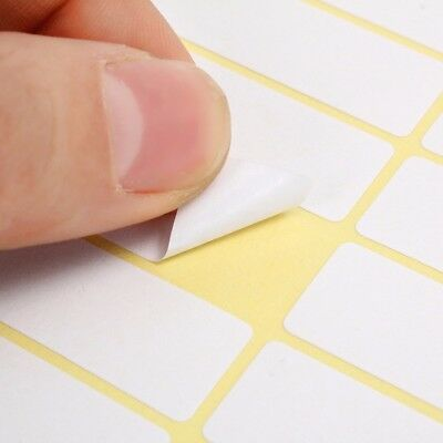 15 Sheets 13x38mm Sticky Labels Price 840 Stickers Tags Blank Self Adhesive USA