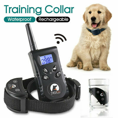 3 Modes Auto Anti Bark Pet Dog Training Collar Stop Barking Rechargeable Remote