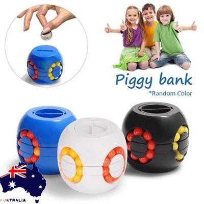 Aussie Coin Counting Money Puzzle Burger Classic Puzzle Shaped Coins Piggy Bank