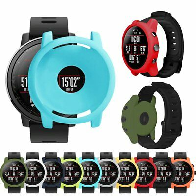 For Huami Amazfit Stratos 2/2S Smart Watch Case Silicone Protective Skin Cover