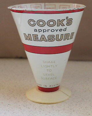 Cook's Approved Measure. Made In Australia