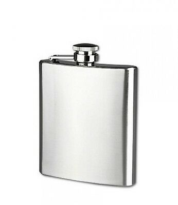Stainless Steel Flask Portable Wine Whisky Pot Bottle Drinkware For Drinker Hip
