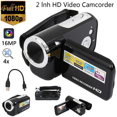 Digital Camera Full HD 1080P Professional Zoom Camera Video Camcorder 32GB