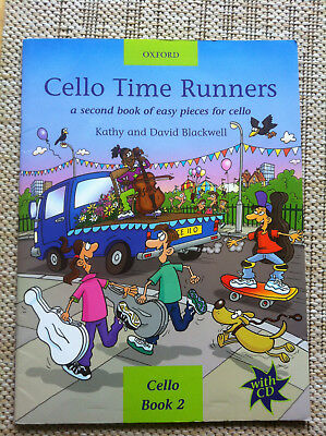 Cello Time Runners Book 2 - Kathy and David Blackwell - mit CD
