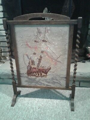 antique firescreen