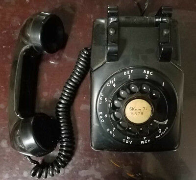 Awesome Western Electric 5302 Rotary Dial Desk Phone- Must See!