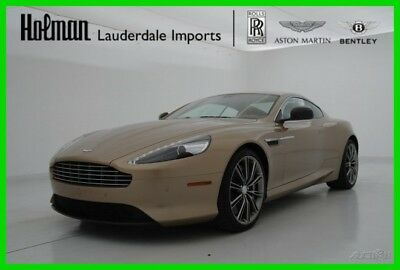 2014 Aston Martin DB9 DB9 V12 COUPE 2014 14 ASTON MARTIN DB9 COUPE * V12 * CERTIFIED WARRANTY * RARE COLORS * LOADED