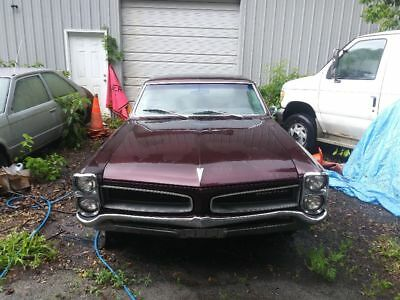 1966 Pontiac Le Mans Sprint 1966 Pontiac Le Mans Sprint - Restoration Project
