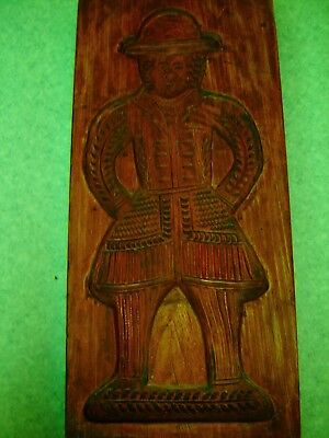 très ancien Moule a speculoos , speculaas, verry old big mold hand carved
