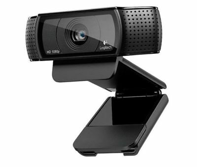 Logitech C920 HD Pro Webcam - 080p Video Calling and Recording with Stereo Mic