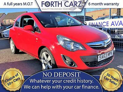 VAUXHALL CORSA SXI 2013 Petrol Manual in Red