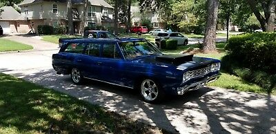 1968 Plymouth Belvedere  1968 Plymouth Belvedere Station Wagon