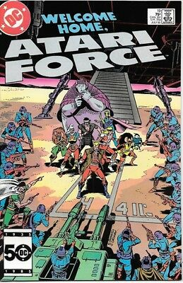 Atari Force Comic Book #19 DC Comics 1985 NEAR MINT NEW UNREAD