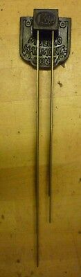 Original Set Of Westminster Chime Gongs For 1930s Type Grandfather Clock (91)