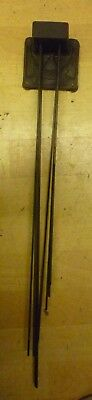 Original Set Of Westminster Chime Gongs For 1930s Type Grandfather Clock (93)
