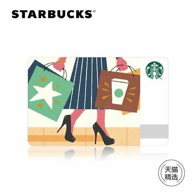 2018 New Starbucks China Shopping Spree Gift Card Pin Intact