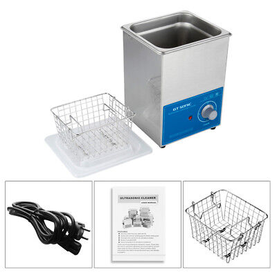 2L NETTOYEUR A ULTRASONS Professionel ULTRASONIC CLEANER CHAUFFAGE Transducteur